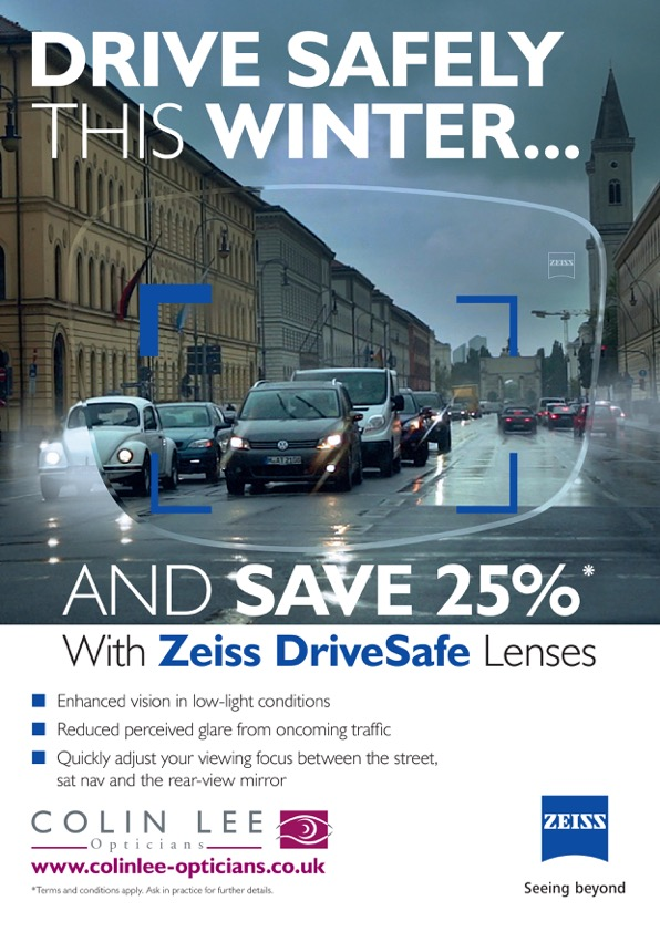 25% off drive safe lenses