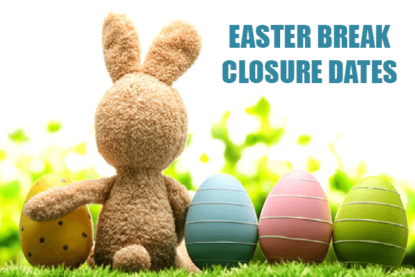 Easter Bank Holiday opening dates, Click for more info