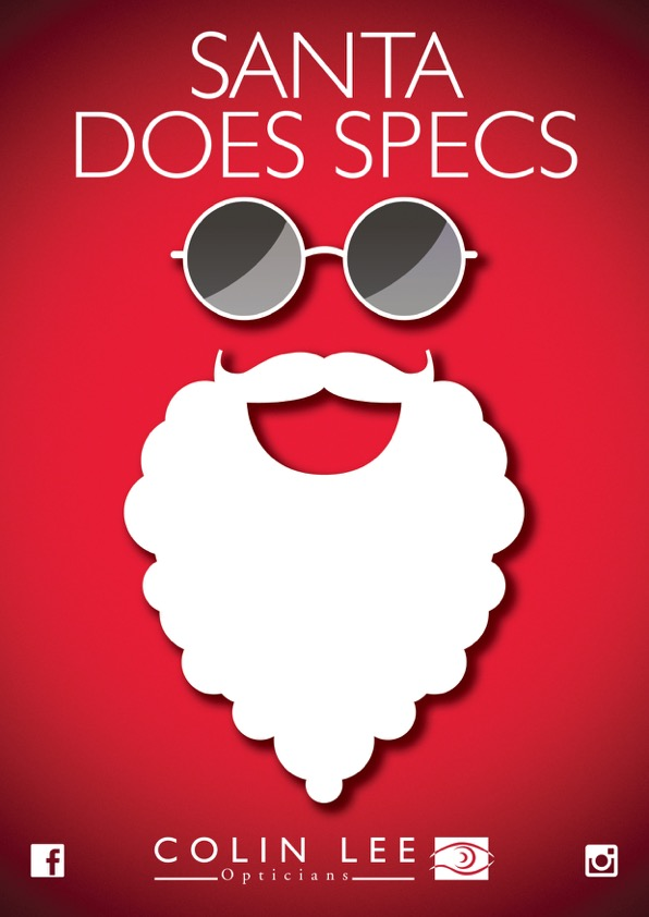 Santa does specs and so much more.......
